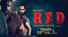 RED Teaser to be released on 28th Feb at 5pm