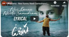 'Nee Kannu Neeli Samudram' Lyrical Video