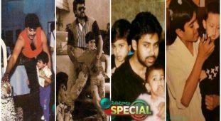 Ramcharan Birthday Special.. Childhood Pics