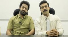 NTR, RamCharan Spreading Awareness on Corona Virus