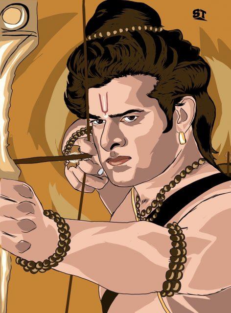 Prabhas as Lord Rama Adipurush movie 4