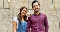 Romantic poster of 'Most Eligible Bachelor' Starring Akhil Pooja Hegde Released