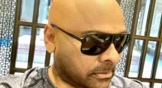 Story behind Chiranjeevi's tonsured look