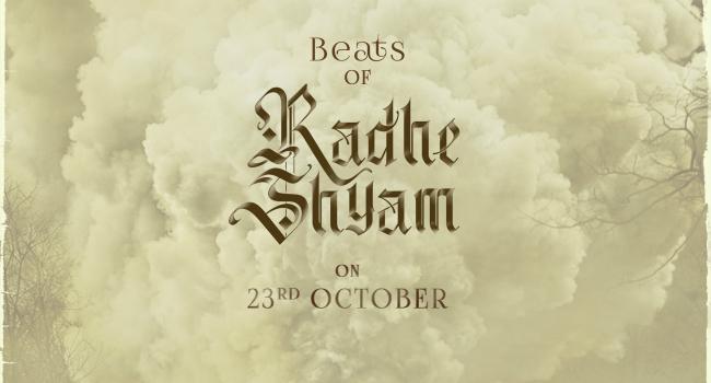 RadheShyam - మోషన్ పోస్టర్ రెడీ