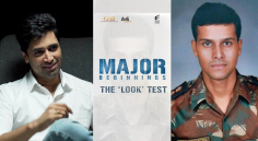 Adivi Sesh's Major Movie 'look test' Released