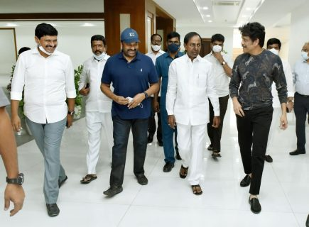 Telangana CM KCR Announces Cinema City