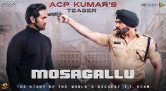 Mosagallu – Suniel Shetty Teaser
