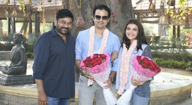 Kajal joins Acharya shoot with Gautam