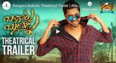 'Bangaru Bullodu' Trailer Review-AllariNaresh-Poojajhaveri-prudhvi-praveen
