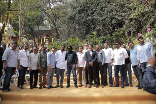 Prabhas salaar movie launch 3