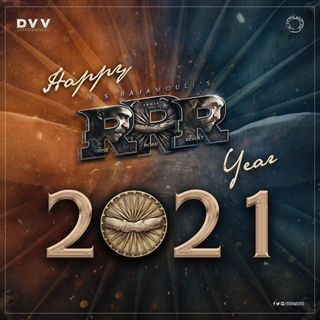 RRR movie new year wishes