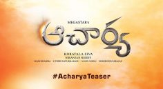 Ram Charan's voice over for 'Acharya' teaser !