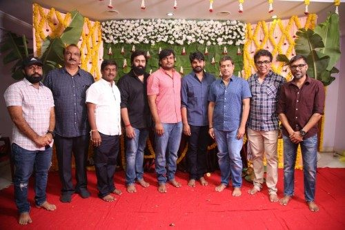 Sree-vishnu-Pradeep-Varma-lucky-media-movie-opening 2