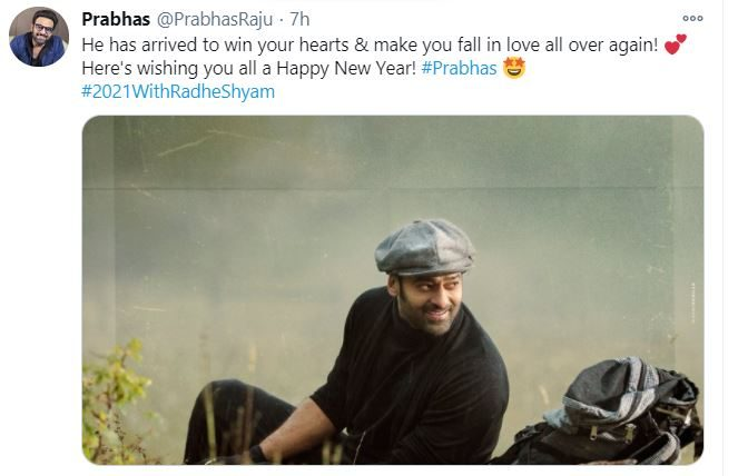 prabhas new year wishes