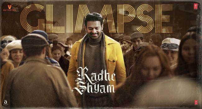 RadheShyam - ఫస్ట్ గ్లింప్స్ అదుర్స్