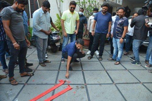 Nithin RangDe Success meet 1