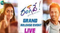 LIVE : RangDe Grand Release Event