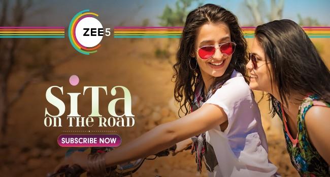 Sita On The Road - జీ5 ప్రీమియర్ రెడీ