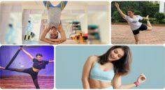 International Day Of Yoga - హీరోయిన్స్ స్పెషల్