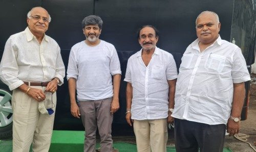 lucifer remake mohan raja NV prasad RB Chowdary Vakada apparao