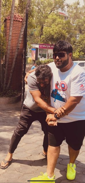 thaman-shares-picture-with-saidharamtej-in-socialmedia