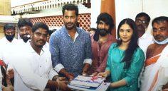 Vishal Pan India Film Regular Shooting Starts