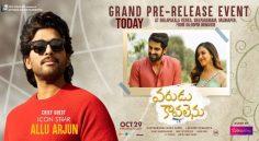 Allu Arjun as Chief Guest for Varudu Kaavalenu Pre Release function